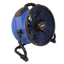 high cfm industrial fans xpower 1720 cfm high temperature 13 in variable speed sealed motor
