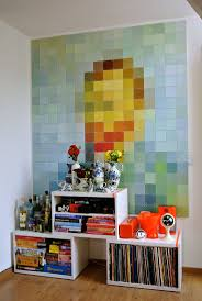 161 best van gogh inspired images on pinterest starry nights diy a modern masterpiece with color paper squares vincent van gogh