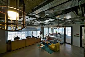 Cool Office Lighting Facebook Tel Aviv Office Design 9 Jpg 1600 1069 Coworking