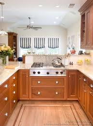 Wood Kitchen Cabinets With Wood Floors by Pictures Of Kitchens Traditional Light Wood Kitchen Cabinets