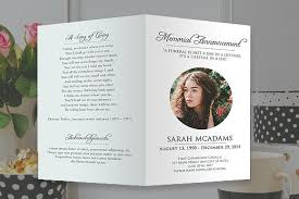Funeral Programs Online Funeral Program Photoshop Template By Shalexdesigns On