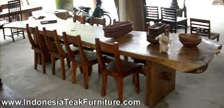 large dining table sets large dining table teak wood furniture from bali indonesia outdoor
