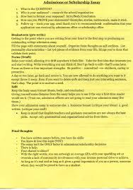 How To Write A Cover Letter For A Scholarship Chs College Application Information