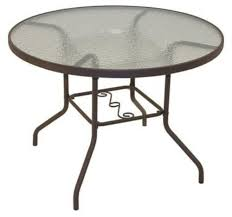 elegant round glass patio table with round glass top patio table