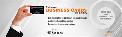 business cards designing and prinitng services in chandigarh