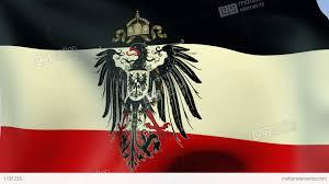 German War Flag Flag Of German Empire 1871 1918 Stock Animation 1191235