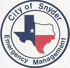 snyder tx emergency management
