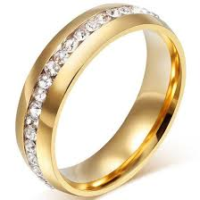 engagement marriage rings images Sale wow big sale for new cz couple stainless steel marriage jpeg