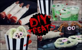 diy halloween snack ideas no cook quick u0026 easy youtube