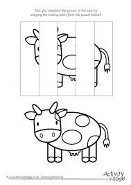 cow printables
