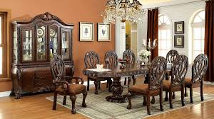 formal dining room sets wyndmere royal presence cherry finish formal dining room table 7
