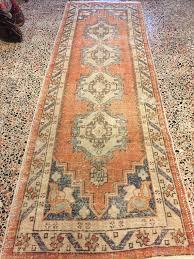 Oushak Rugs Reproduction Oushak Runner Vintage Rug Turkish Carpet Home Office Decor