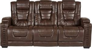 Brown Recliner Sofa 1 199 99 Eric Church Highway To Home Chief Brown Power