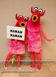 Coolest Homemade Mahna Mahna And The Snowths Costumes