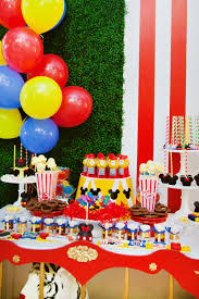 Minnie Mouse Halloween Birthday Party by Dazzling Mickey U0026 Minnie Circus Birthday Party Hostess With The