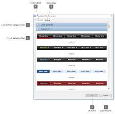 navigation bar template