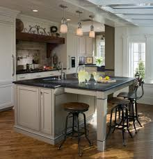 magnificent industrial kitchen island with dining table stool