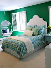 Bedroom Blue And Green Three Years Later Our Before And Afters Driven By Decor