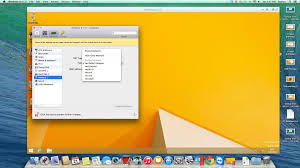in parallels desktop
