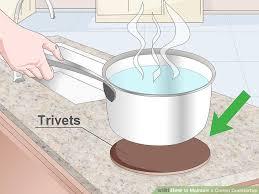 Where Can I Buy Corian 3 Ways To Maintain A Corian Countertop Wikihow
