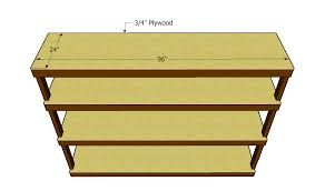Free Shelf Woodworking Plans by Plywood Shelf Plans This Bookcase Is Made From 3 4 Plywood 2x4 S