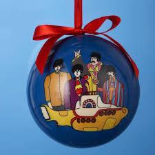 bola de natal the beatles yellow submarine natal