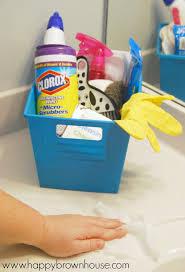 Bathroom For Kids - bathroom cleaning kit for kids free printable bathroom cleaning