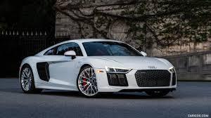 Audi R8 Front - 2017 audi r8 v10 white us spec front hd wallpaper 9