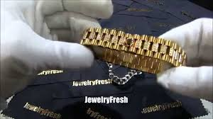 rolex bracelet diamonds images Rolex presidential style lab diamond iced out bracelet jpg