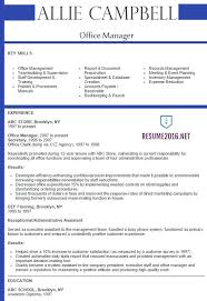 Best Font For Executive Resume by Best Example Of A Resume