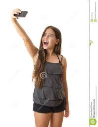 Take A Selfie Teenage Taking A Selfie Stock Photo Image 43770151