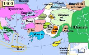Map Of Ottoman Empire 1500 Early Ottomans Daniel 11 14