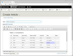 Bootstrap Table Example Ckeditor Bootstrap Table Tools Drupal Org