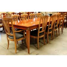 Ethan Allen Dining Room Sets Dining Tables Large Dining Room Table Seats 10 5 Piece Dining