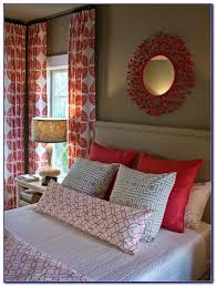Orange And White Striped Curtains Red And White Striped Curtains For Bedroom Bedroom Home Design