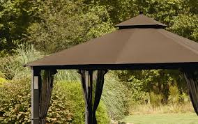 Pergola Replacement Canopy by Grand Resort Replacement Canopy For Lighted Gazebo Outdoor