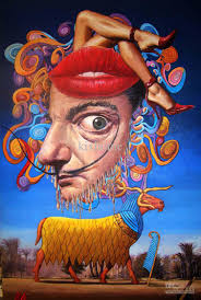 2018 abstract paintings surreal thanksgiving by salvador dali