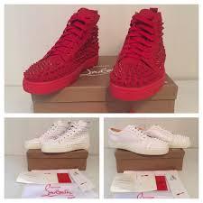 christian louboutin high u0026 low top unisex men women trainers shoes