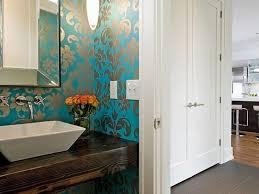 Modern Wallpaper For Bathrooms Gorgeous Wallpaper Ideas For Your - Designer bathroom wallpaper