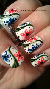 174 best manis 2 try floral images on pinterest nail art