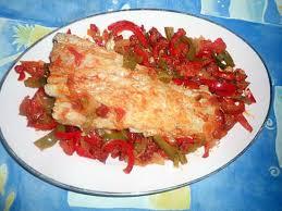 cuisiner filet de cabillaud recette de filet de cabillaud aux poivrons et chorizo
