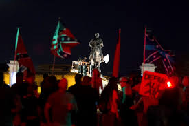 New Orleans Flag New Orleans Removes Statue Of Confederate General P G T