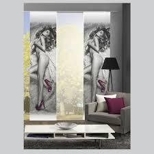 home wohnideen schiebevorhang pumps schiebevorhang schiebegardine raumteiler digital home