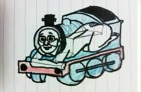 true form thomas tank engine boing boing
