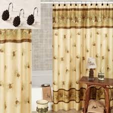 Touch Of Class Shower Curtains Pinecone Shower Curtain Foter