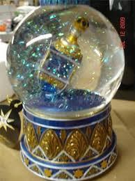 musical dreidel dreidel snow globe water globe musical hanukkah bnib