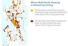 City Of Seattle Zoning Map by Where Multi Family Housing Is Allowed By Zoning Chs Capitol Hill