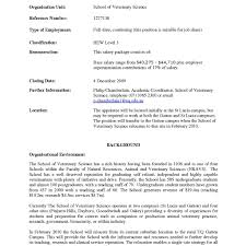veterinary technician resume templates fred resumes