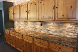 Kitchen Glass And Stone Backsplash Blue Tile For Uotsh - Stone backsplash tiles