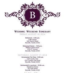 wedding itinerary template birthday itinerary template template billybullock us